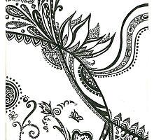 La fleur enchantee  by Emilie Desaunay