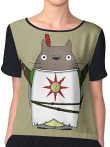 Totoro praise the sun Chiffon Top