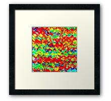 Mixed paint Framed Print