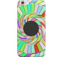 Colorful whirlpool abstract design iPhone Case/Skin