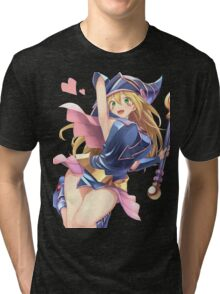 Dark Magician Girl Tri-blend T-Shirt