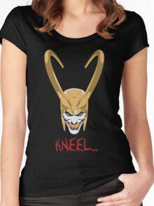 Kneel... Women's Fitted Scoop T-Shirt