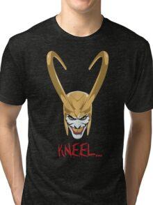 Kneel... Tri-blend T-Shirt