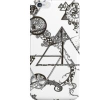 A travers le temps et l'espace iPhone Case/Skin