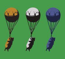 Flying goats 2 Baby Tee