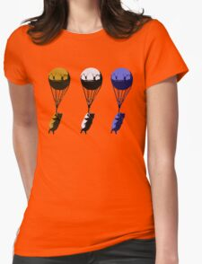 Flying goats 2 Womens Fitted T-Shirt