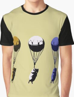 Flying goats 2 Graphic T-Shirt
