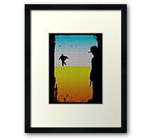And The Gunslinger Followed Framed Print