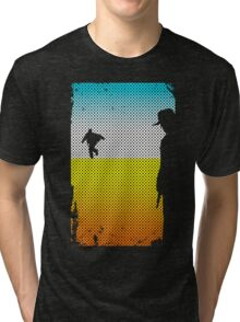 And The Gunslinger Followed Tri-blend T-Shirt