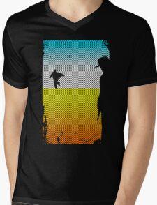 And The Gunslinger Followed Mens V-Neck T-Shirt