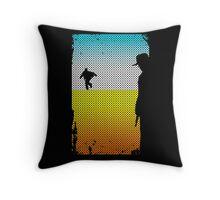 And The Gunslinger Followed Throw Pillow