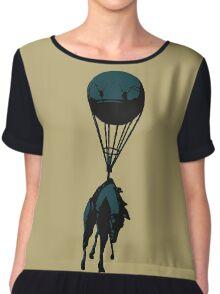 Flying horse Chiffon Top