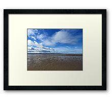 Wet Sands Framed Print