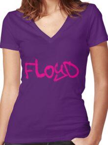 Floyd Women's Fitted V-Neck T-Shirt