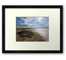 The long Beach Framed Print