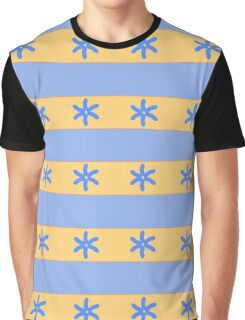 Stripes, ocean and sand Graphic T-Shirt