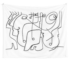 After Picasso B12 Wall Tapestry
