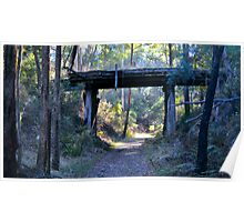 Historic Trestle Bridge Poster