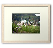 Landscape Scottish Countryside Scenic View  Framed Print