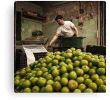 The Greengrocer #0101 Canvas Print