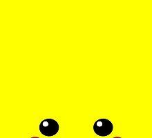 Pikachu, 'Pika Face', Pokemon by Thomas Marsden
