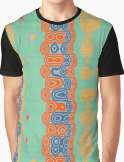 Distorted retro bubbles Graphic T-Shirt