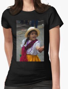 Cuenca Kids 776 Womens Fitted T-Shirt