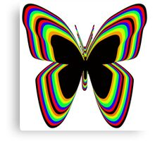 Multi-Colored Buttrfly Canvas Print