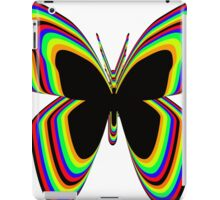 Multi-Colored Buttrfly iPad Case/Skin