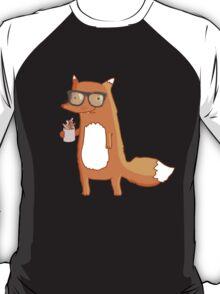 Fox & coffee T-Shirt