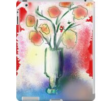 Vase With Flowers by Roger Pickar, Goofy America iPad Case/Skin