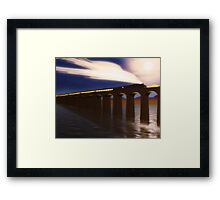 Night Express Framed Print