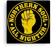 Northern Soul All nighter Canvas Print