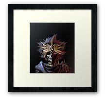 Yu-Gi-Oh! - Skeleton Framed Print