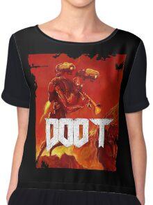 Doom Doot Chiffon Top