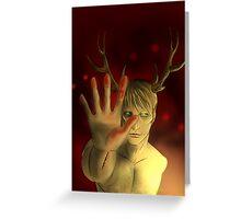 Hannibal - The Demon Greeting Card