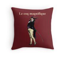 Le Coq Magnifique Throw Pillow
