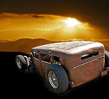 Rat Rod 'Shady Lady' by DaveKoontz