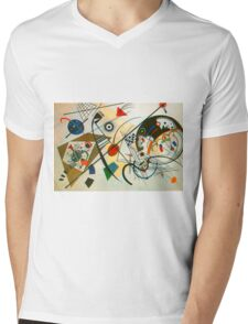 Kandinsky painting Mens V-Neck T-Shirt