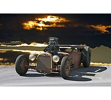 Rat Rod 'Junk Yard Dog' Photographic Print