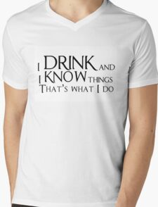 Game of thrones quote Mens V-Neck T-Shirt