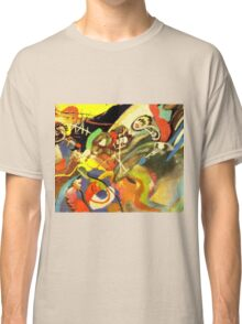 Colourful Kandinsky Abstract Painting Classic T-Shirt