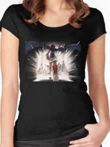 Yu-Gi-Oh! Pharaon Women's Fitted Scoop T-Shirt