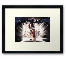 Yu-Gi-Oh! Pharaon Framed Print