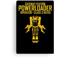 Powerloader - Class 3 Rated Canvas Print