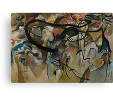 Abstract Kandinsky Painting Canvas Print