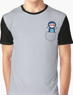 There's a Dinosaur in my Pocket! Graphic T-Shirt