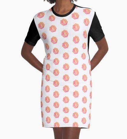 Gem Graphic T-Shirt Dress