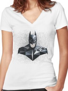 I am the night Women's Fitted V-Neck T-Shirt