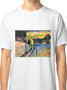 Colourful Landscape Kandinsky Painting Classic T-Shirt